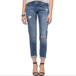 DL1961 Azalea Relaxed Skinny Jeans Kahlo Size 26